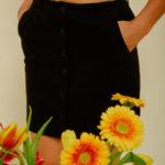 Graine Clothing - Jupe Coquelicot - Couleur Jet Black