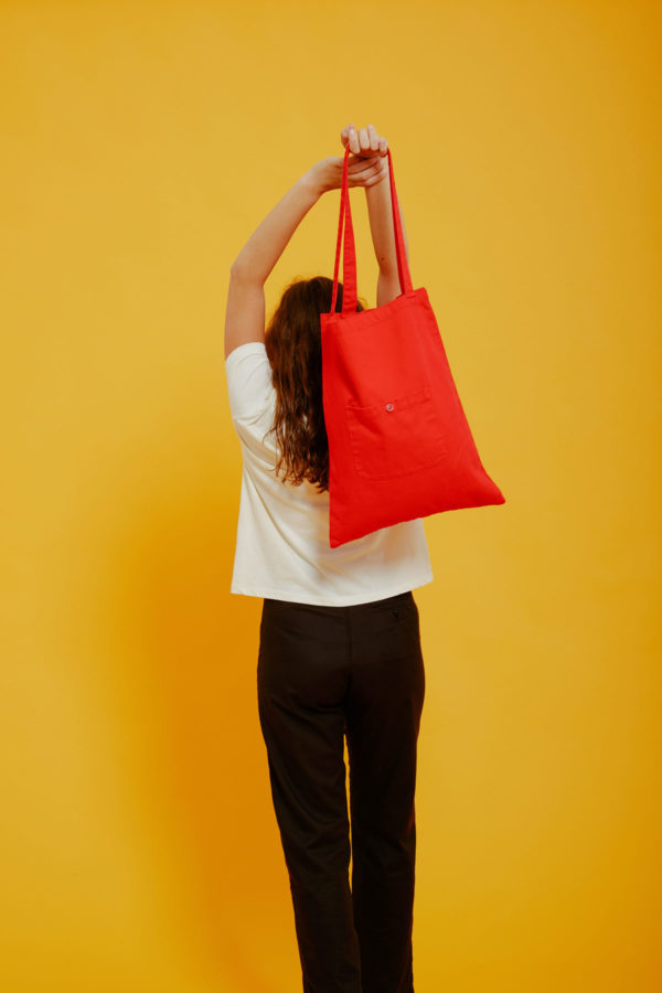 Graine Clothing - Sac Terre - Couleur Fiery Red