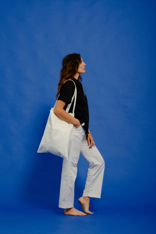 Graine Clothing - Sac Terre - Couleur Winter White