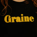 Graine Clothing - Sweat-Shirt Pétale - Couleur Jet Black