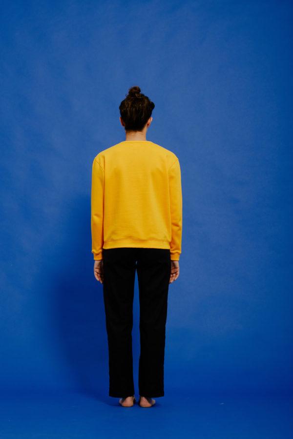 Graine Clothing - Sweat-Shirt Pétale - Couleur Jet Black
