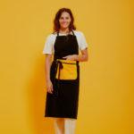 Graine Clothing - Tablier Tige - Couleur Jet Black