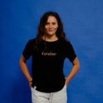 Graine Clothing - T-Shirt Hippolyte - Couleur Jet Black
