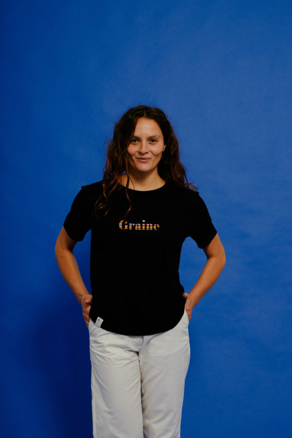 Graine Clothing - T-Shirt Hippolyte - Couleur Jet Black