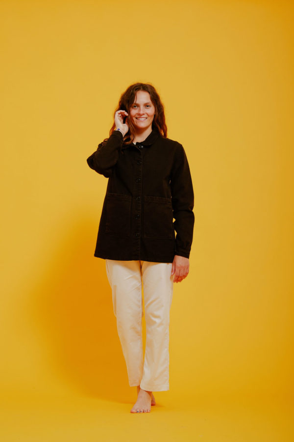 Graine Clothing - Veste Graine - Couleur Jet Black