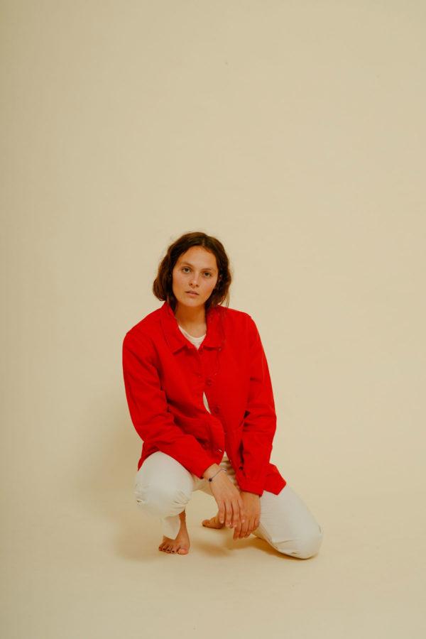 Graine Clothing - Veste Graine - Couleur Fiery Red