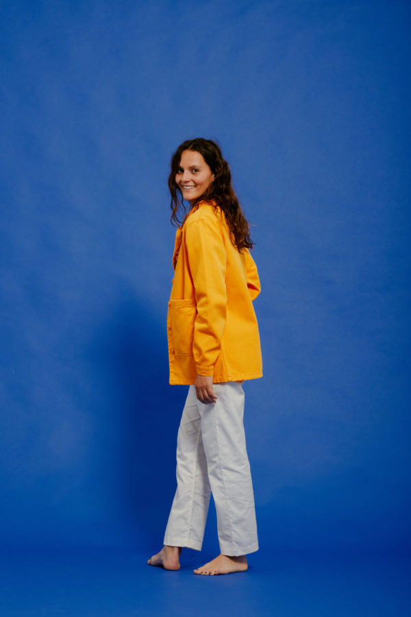 Graine Clothing - Veste Graine - Couleur Saffron