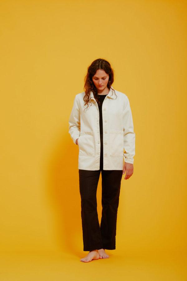 Graine Clothing - Veste Graine - Couleur Winter White