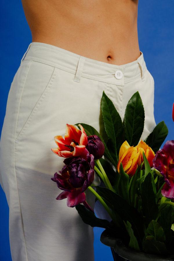 Graine Clothing - Pantalon Bulbe - Couleur Winter White