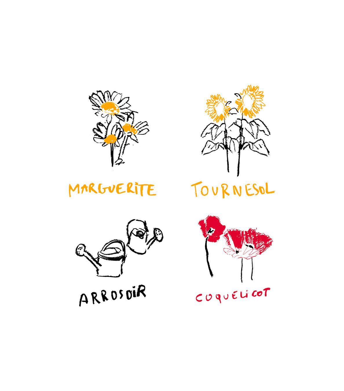 Graine Clothing - Jeune Pousse dessins