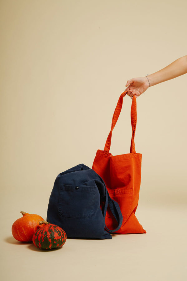 Sac Terre - Orange - Graine Collection De(ux) Saisons FW19