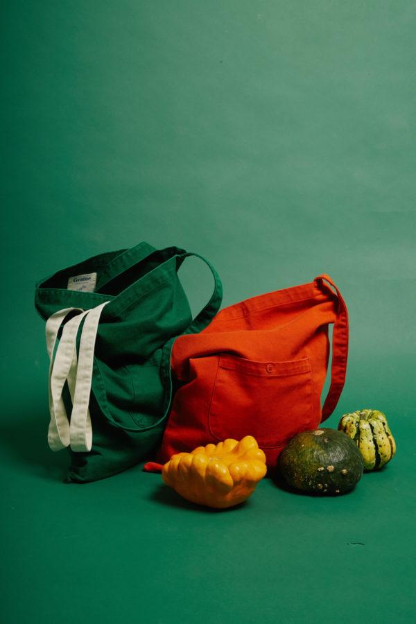 Sac Terre - Orange - Graine Collection De(ux) Saisons FW19