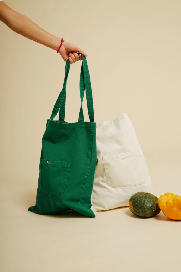 Sac Terre - Verdant Green - Graine Collection De(ux) Saisons FW19