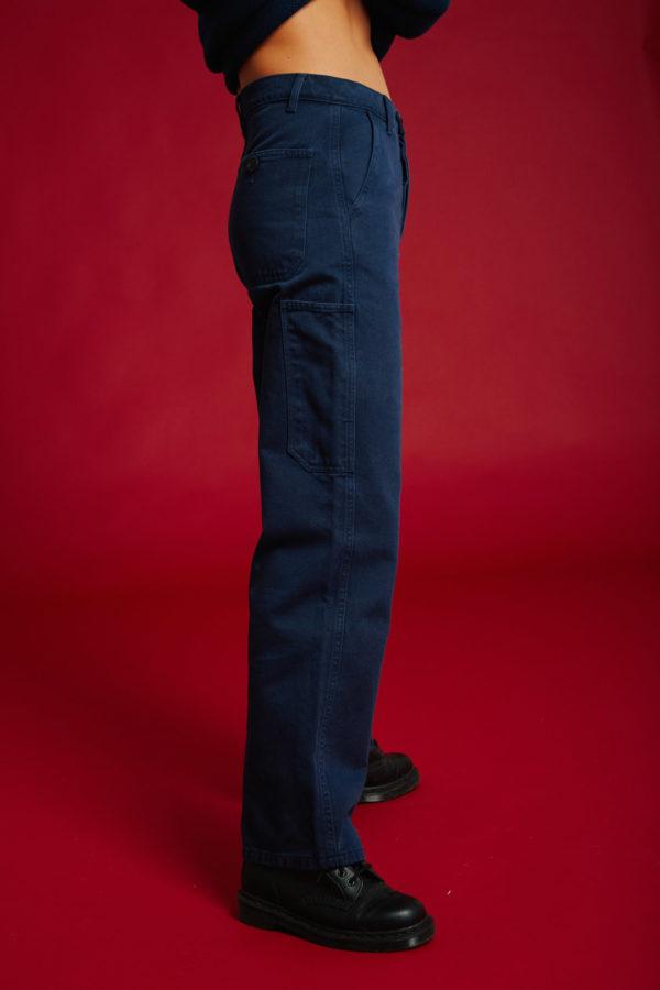 Pantalon Jardinier - Navy - Graine Collection De(ux) Saisons FW19