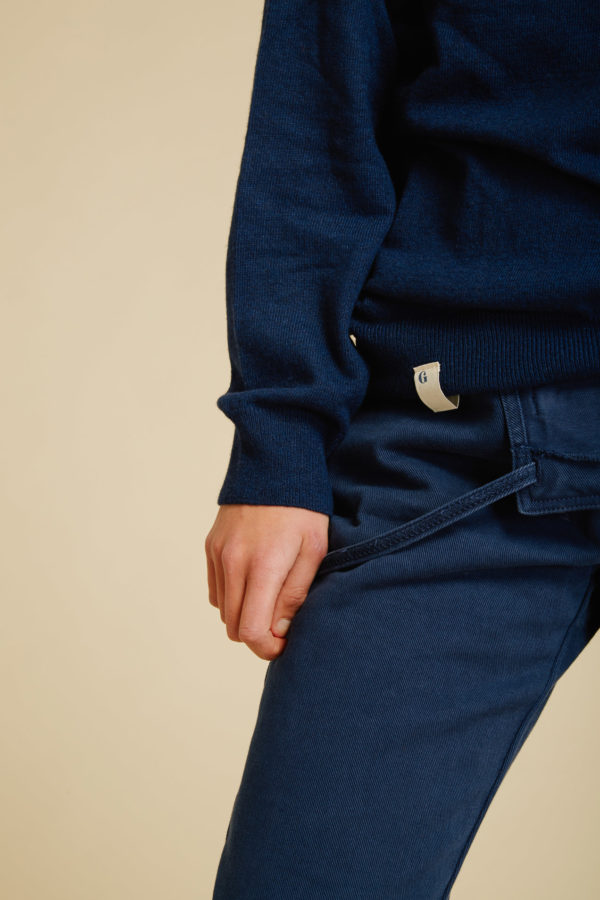 Pull Campagne - Navy - Graine Collection De(ux) Saisons FW19