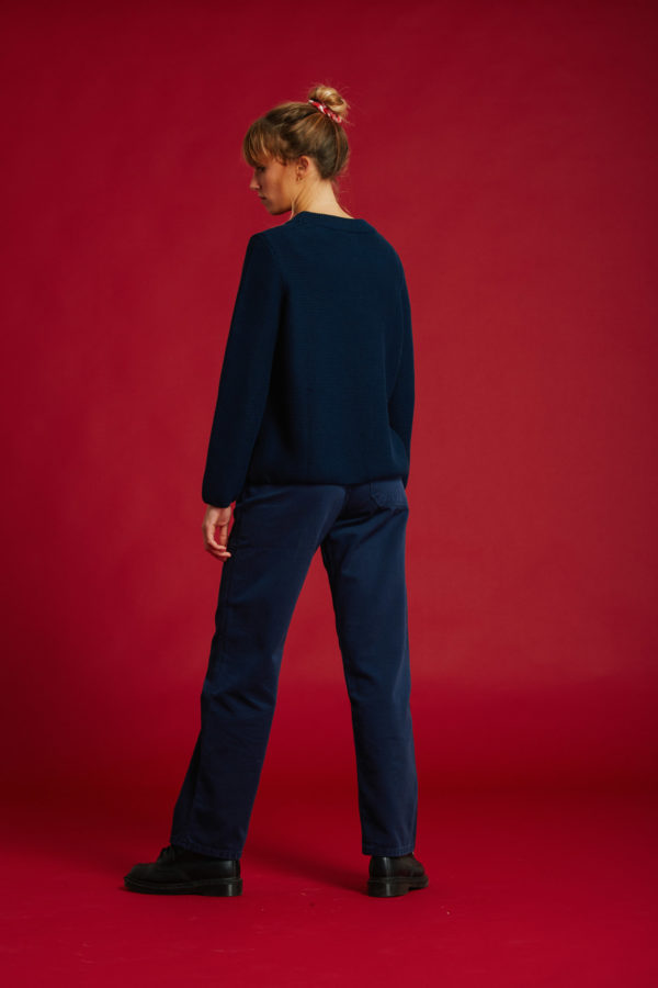 Pull No Stress - Navy - Graine Collection De(ux) Saisons FW19