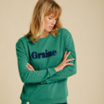 Sweat Carotte - Verdant Green - Graine Collection De(ux) Saisons FW19