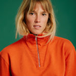 Sweat Pelle - Orange - Graine Collection De(ux) Saisons FW19