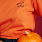 T-Shirt Arroser l'Amour - Orange - Graine Collection De(ux) Saisons FW19