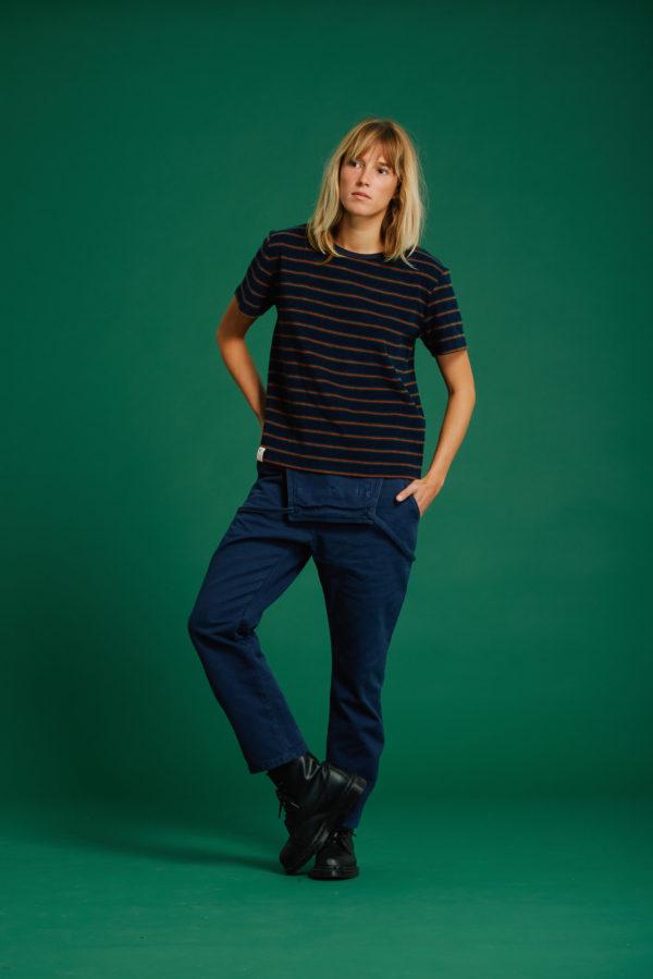T-Shirt Chloé - Navy - Graine Collection De(ux) Saisons FW19