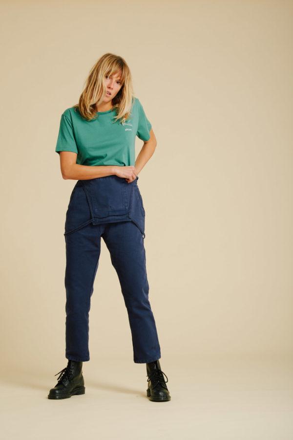 T-Shirt Rateau - Verdant Green - Graine Collection De(ux) Saisons FW19