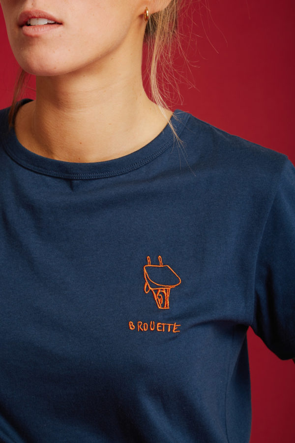 T-Shirt Roue - Navy - Graine Collection De(ux) Saisons FW19