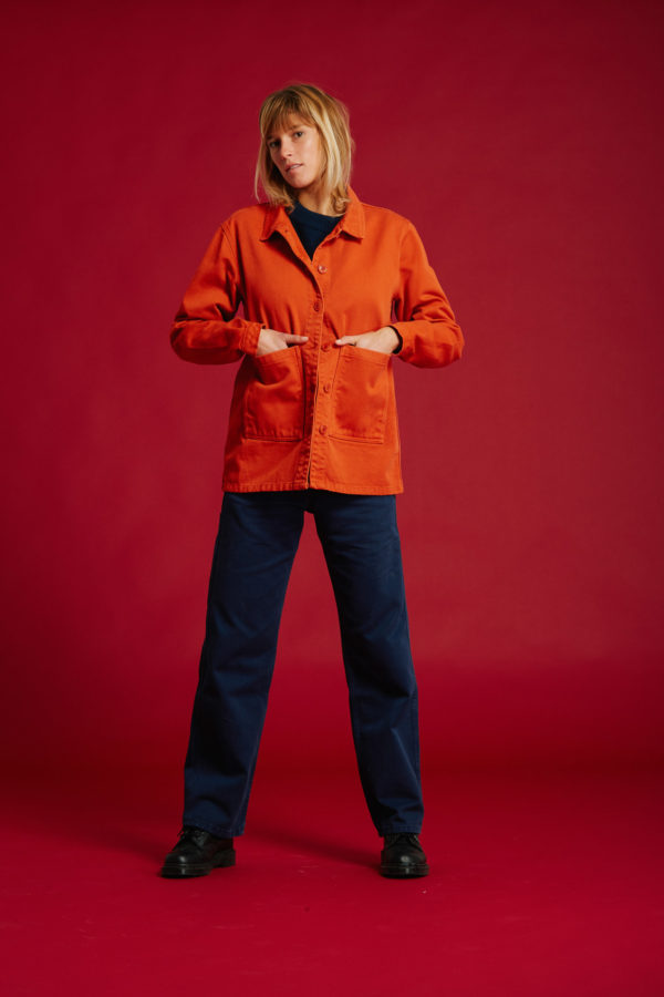 Veste Graine - Orange - Graine Collection De(ux) Saisons FW19
