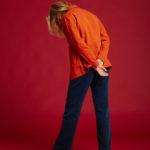 Veste Graine - Orange - Graine Collection De(ux) Saisons FW19