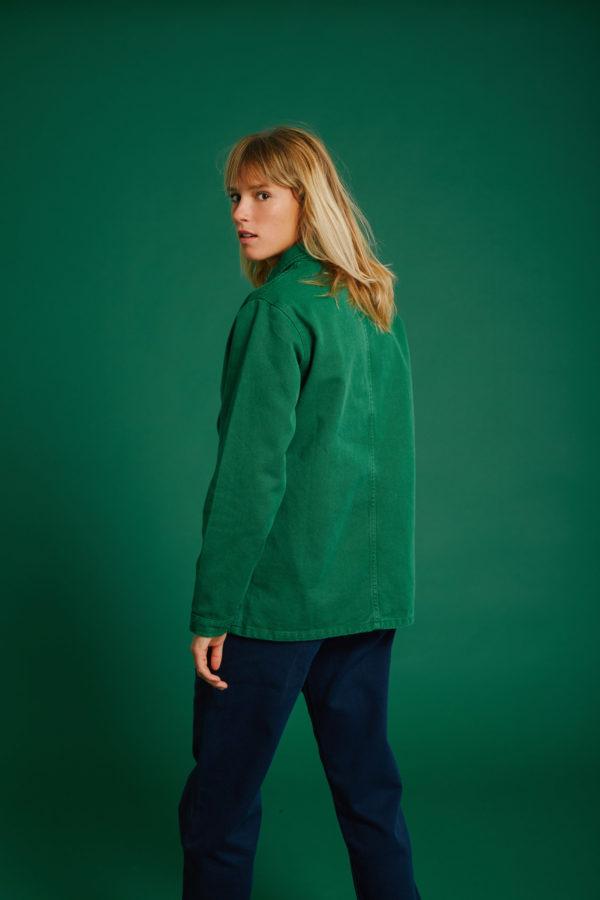 Veste Graine - Verdant Green - Graine Collection De(ux) Saisons FW19