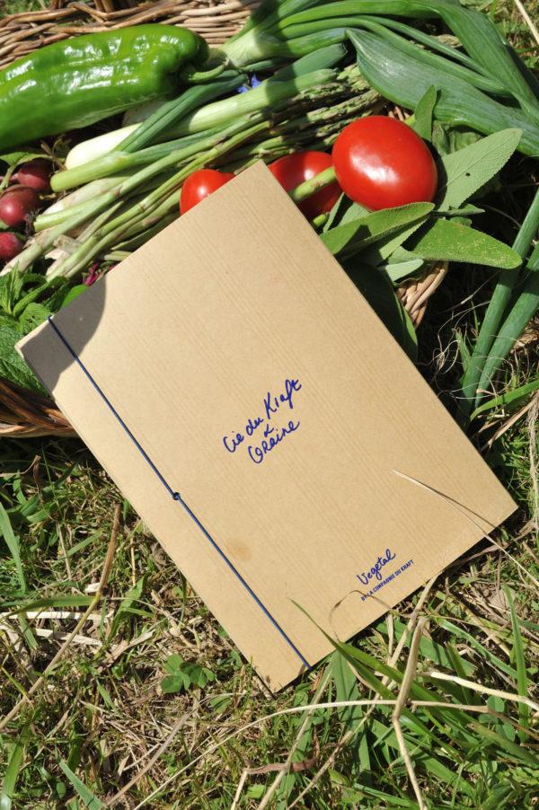 Graine - Collaboration La Compagnie du Kraft - Carnet Arroser l'amour naturel