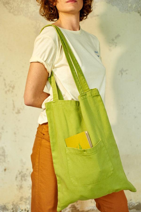 Graine SS20 - Sac Poireau couleur Woodbine vert olive