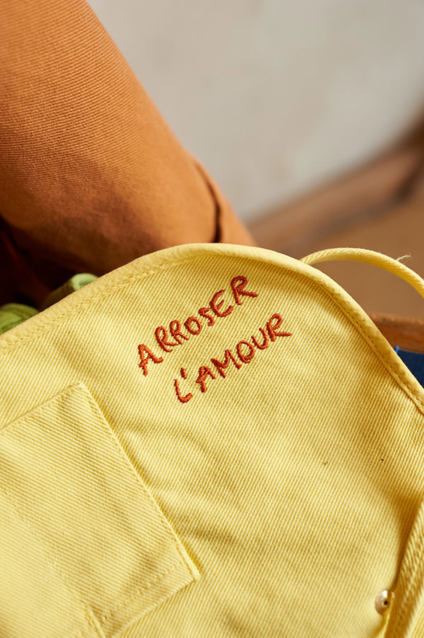 Graine SS20 - Trousse Aneth Yarrow couleur jaune bouton d'or