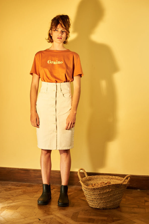 Graine SS20 - T-Shirt Fenouil Tuolo Terracotta