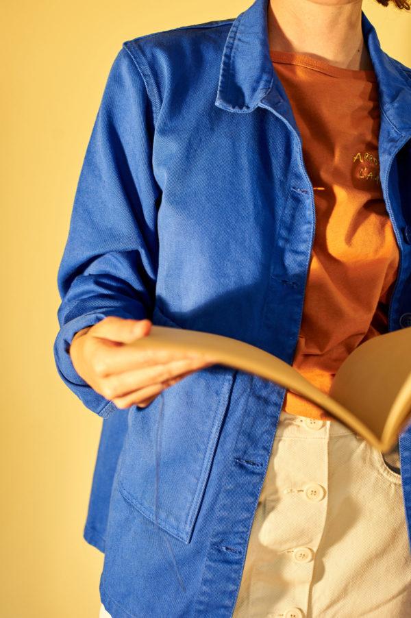 Graine SS20 - Veste Graine Dazzling Blue couleur bleu roi