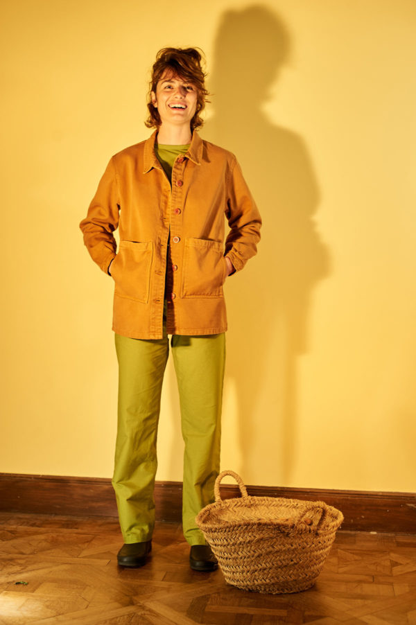 Graine SS20 - Veste Graine Tuolo couleur terracotta