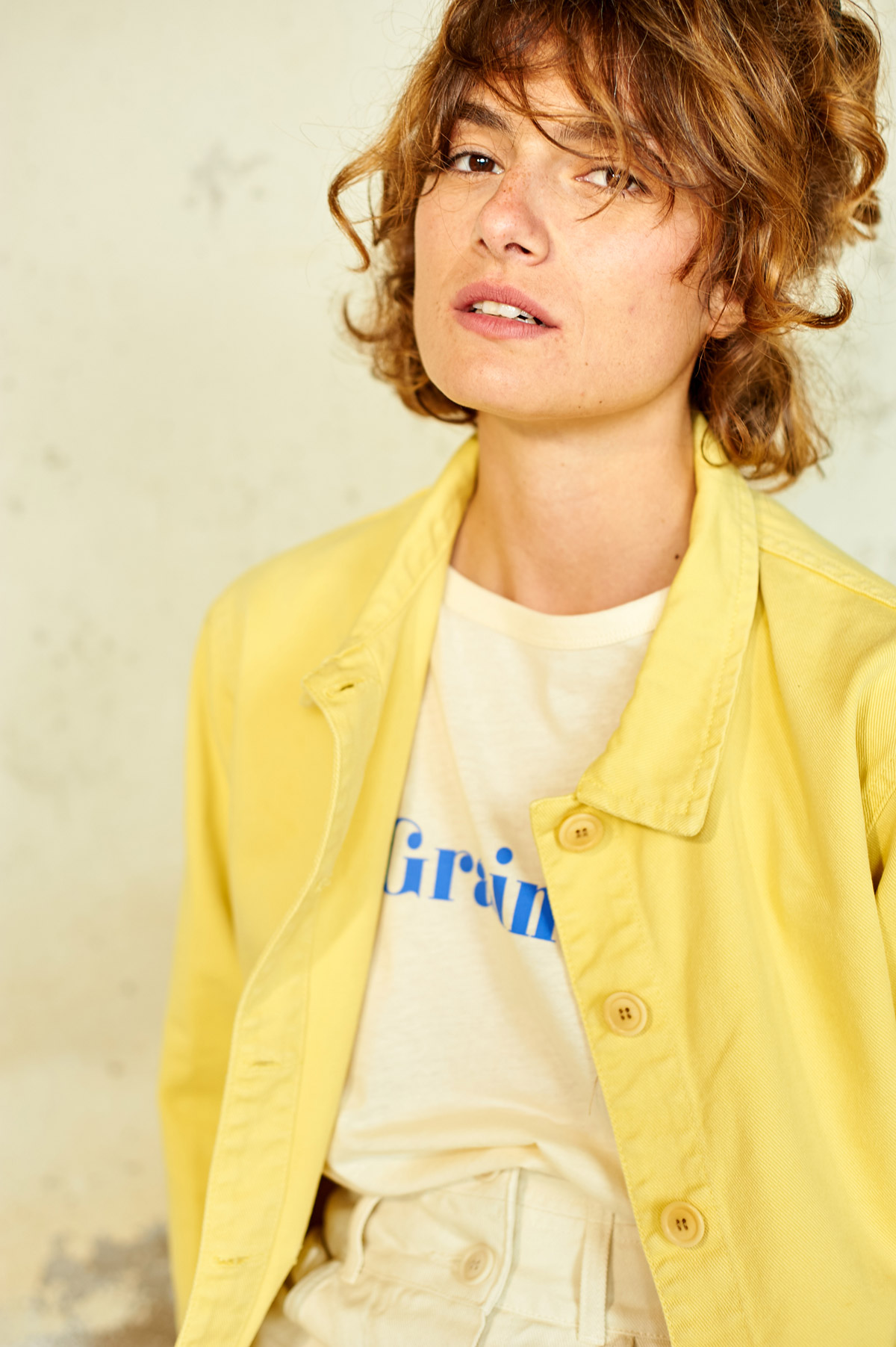 Graine Lookbook SS20 - Collection Les Graines - Photo Melvin Israel - Modèle Justine Mothe