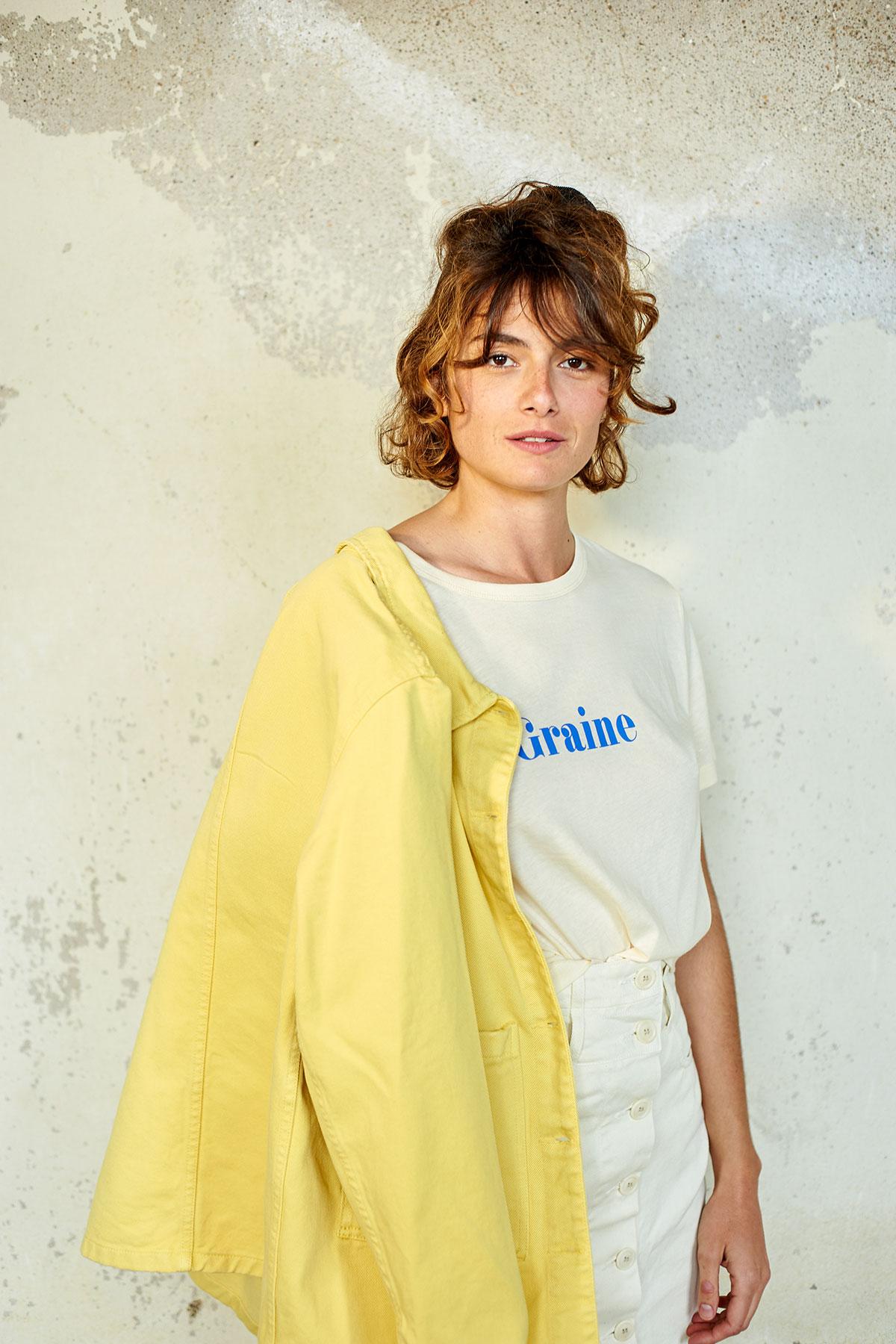 Graine - SS20 - Vestes et chemises - Modèle Justine Mothe - Photo Melvin Israel