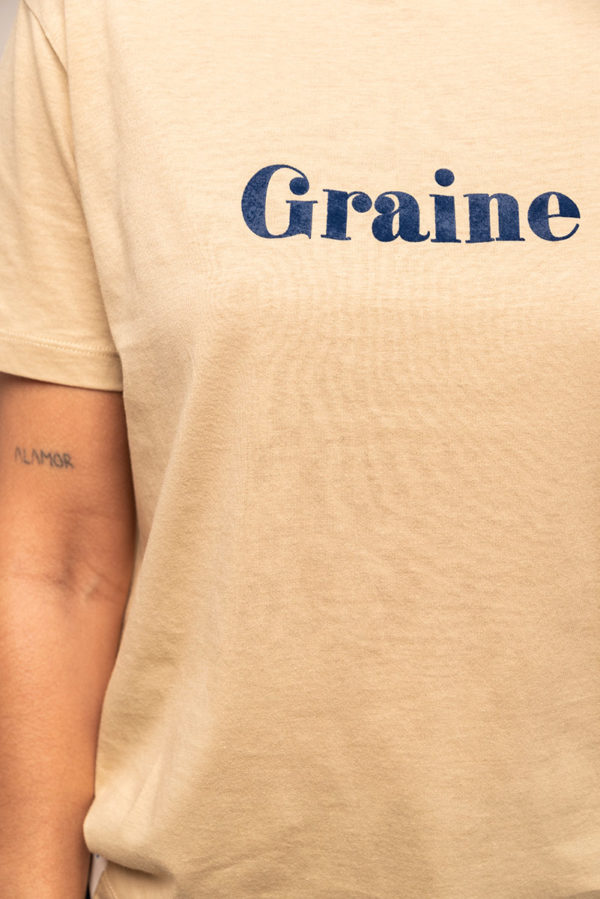 Graine Fw20 Tshirt Cage Amour Beige Grcage001 3