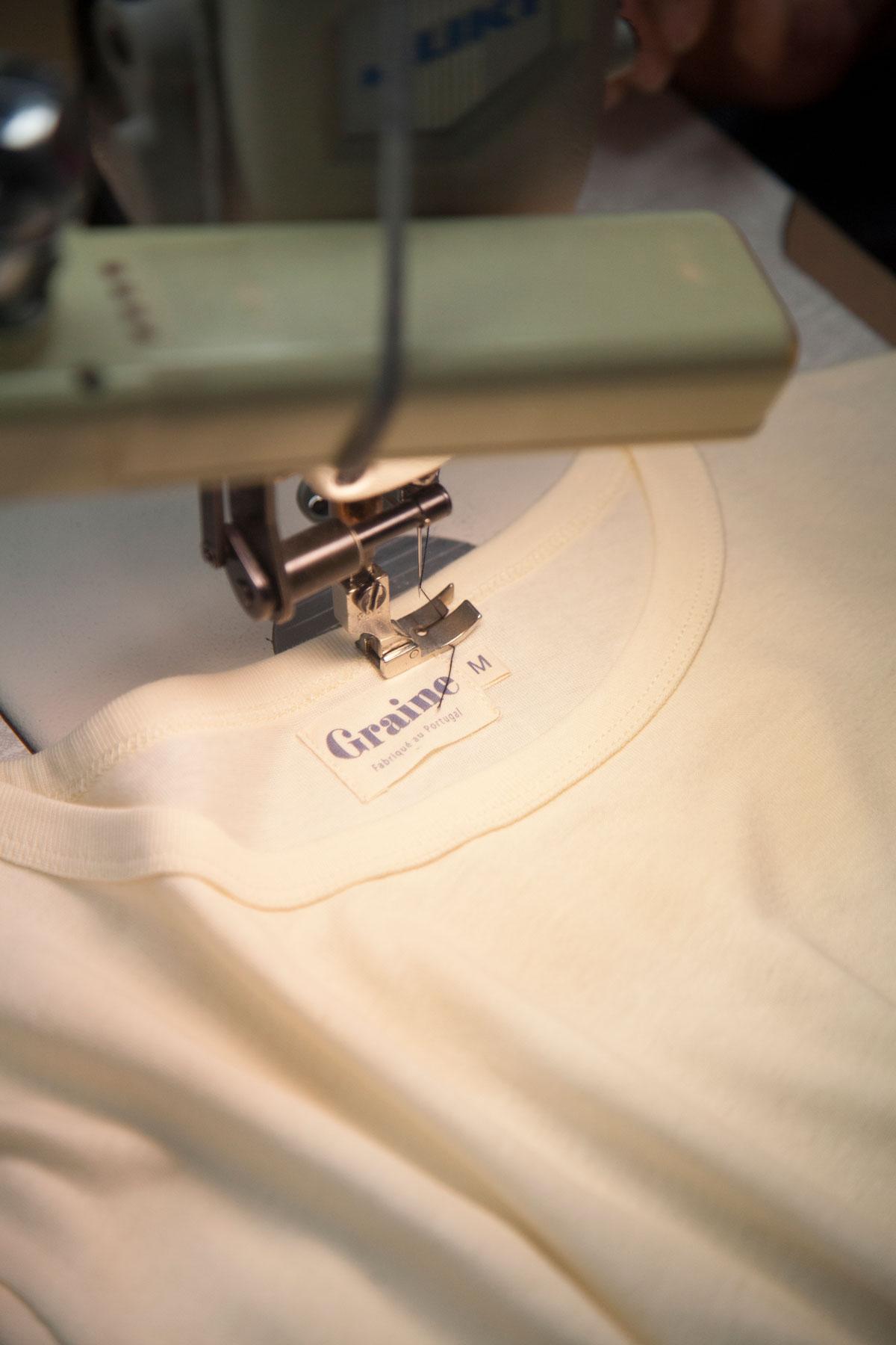 Graine Atelier Portugal Tissus Tshirt