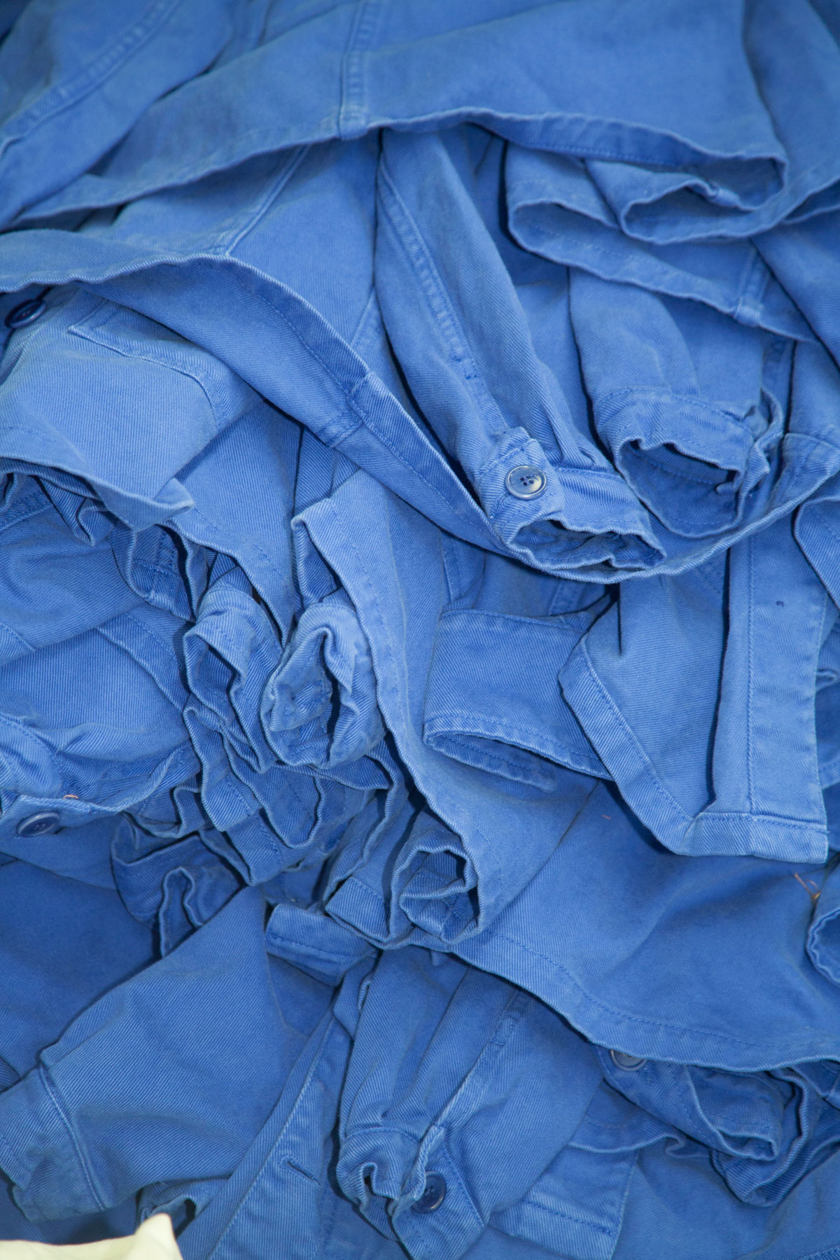 Graine Atelier Portugal Tissus Vestes Bleues