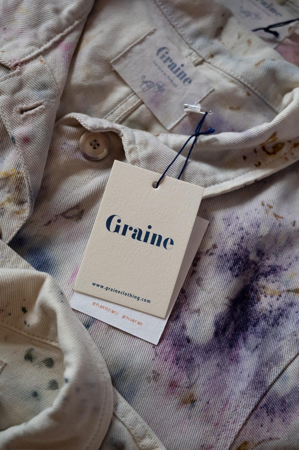 Graine Marram Veste Teinture Scabiosa 10