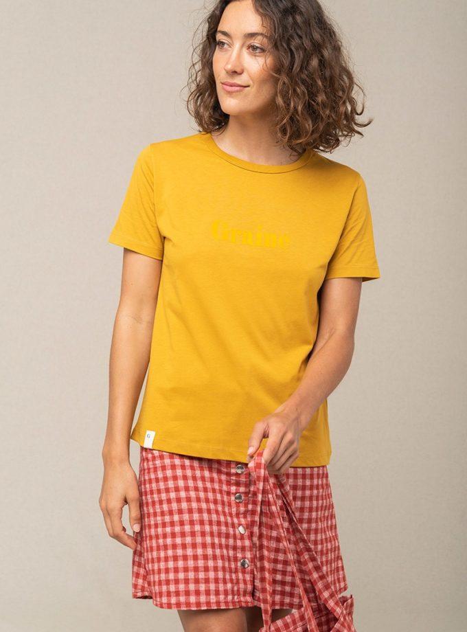 Graine Tshirt Ss21 Ecume 001